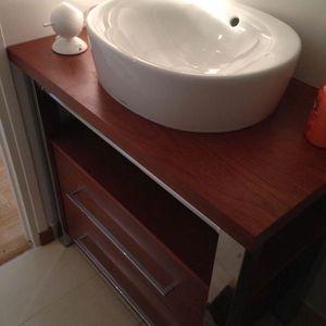 Meuble contemporain de salle de bain